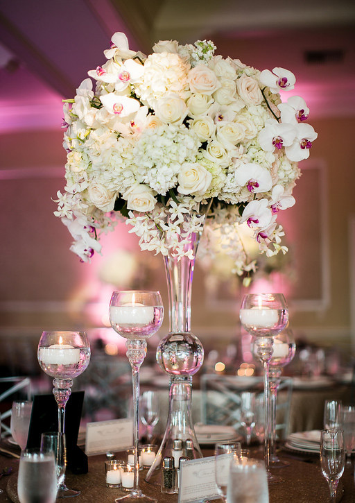 Lifetime Weddings & Events -  centerpieces
